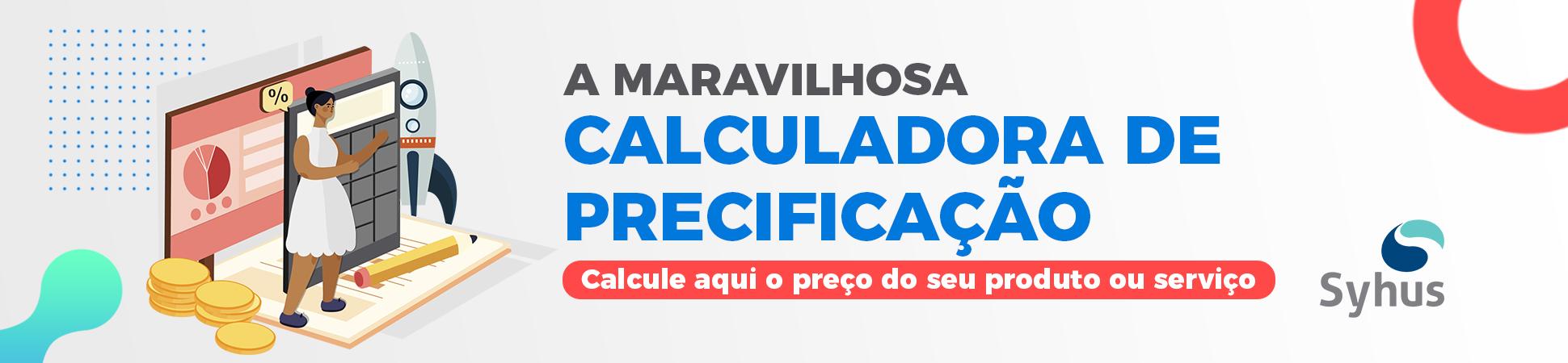Banner calculadora de precificação